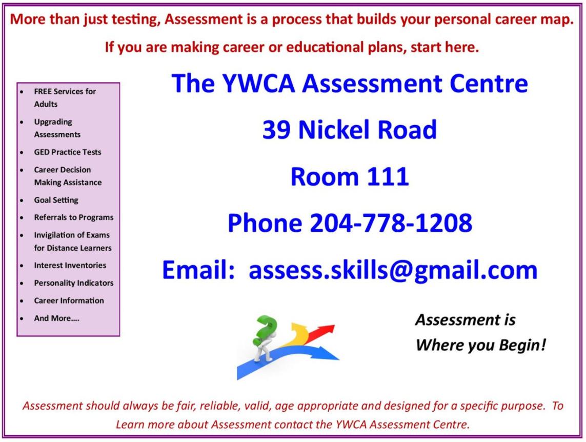 Assessment Centre poster 2